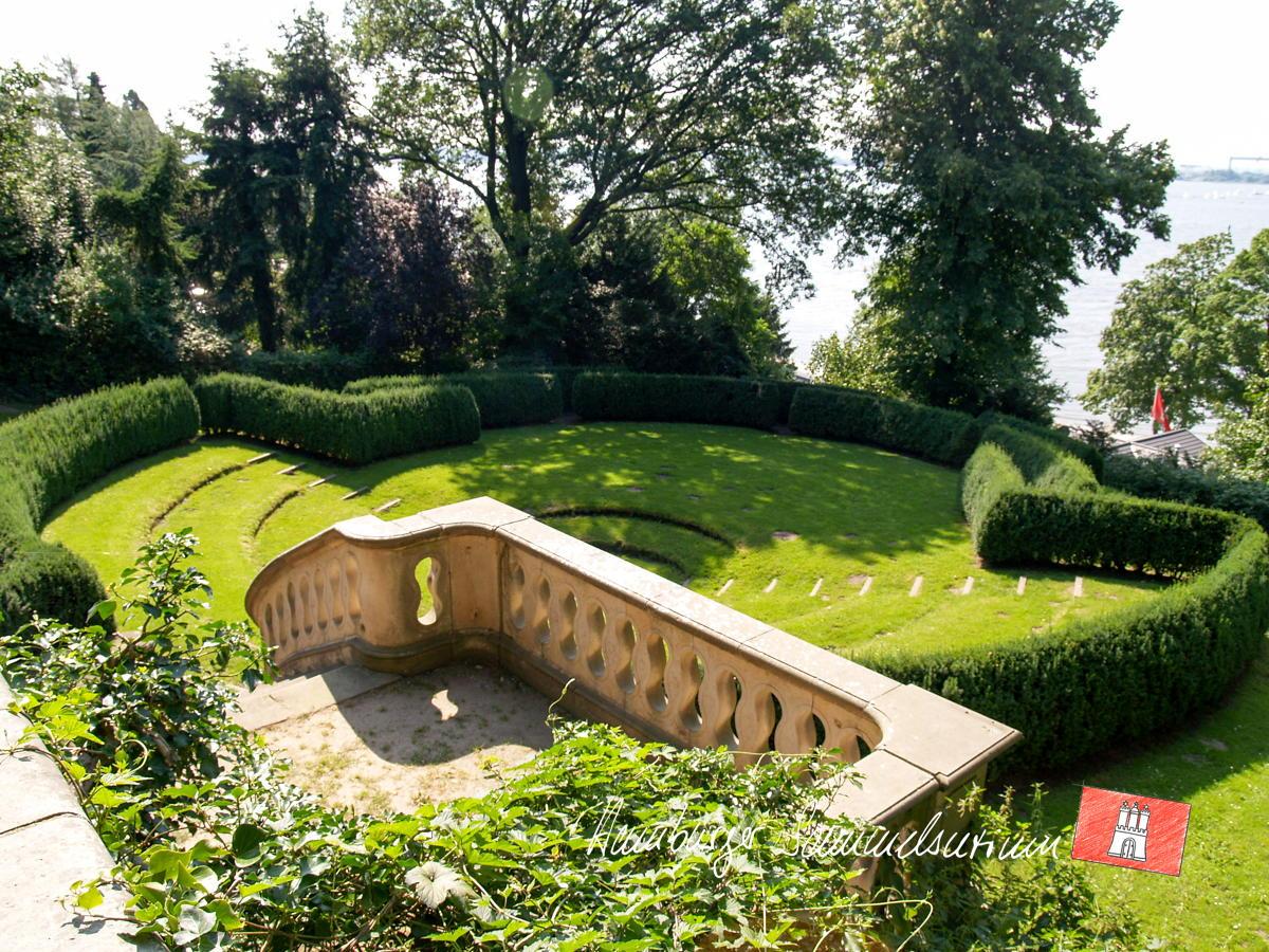 Römischer Garten Hamburger Sammelsurium